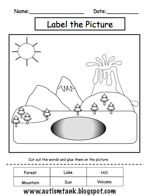 landform coloring pages - free coloring pages of land forms