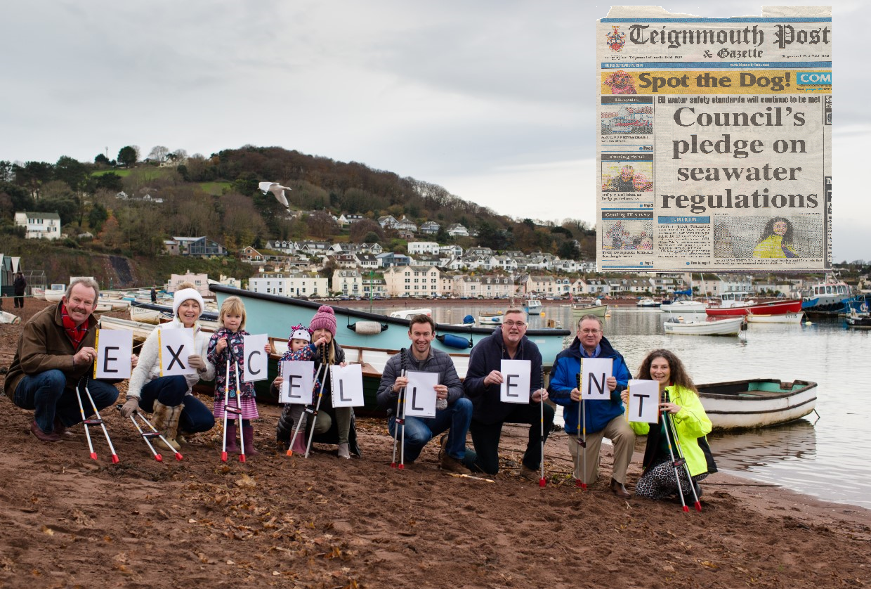 David Cox: Teignmouth Beaches get 'Excellent' Rating