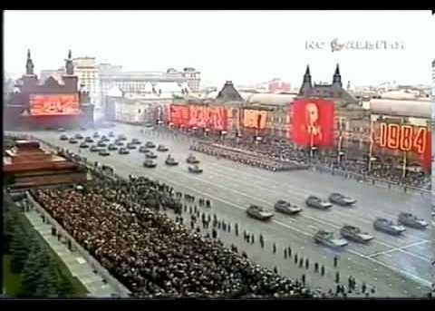 Soviet Military parade 1984