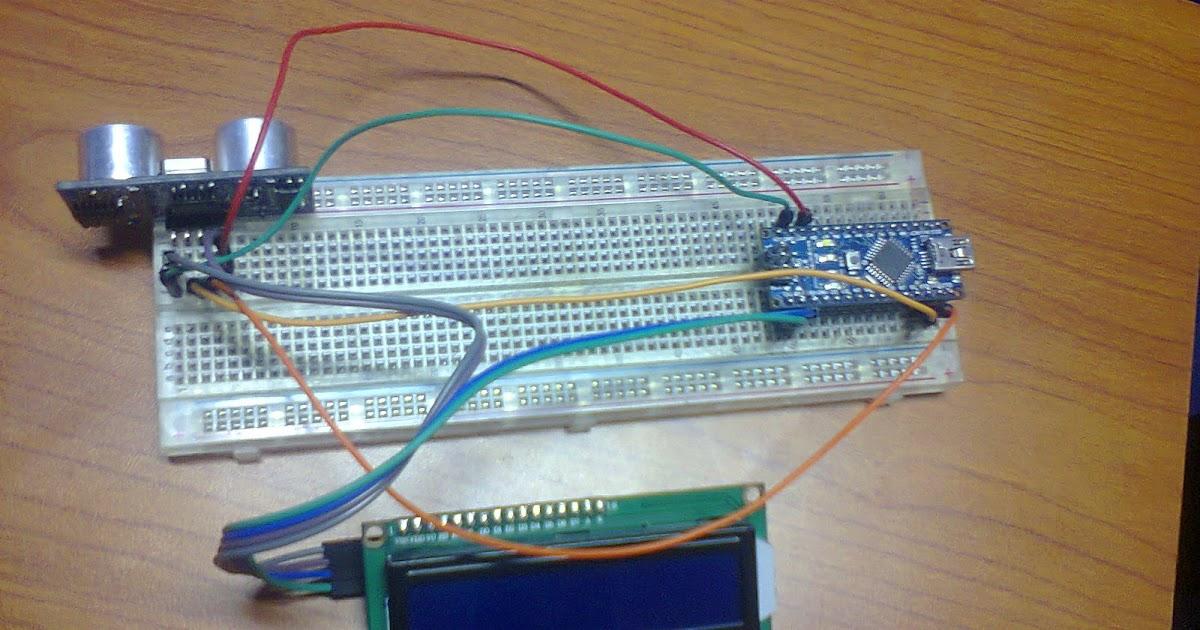 Alat Pengukur Jarak Dan Tinggi Badan Menggunakan Sensor