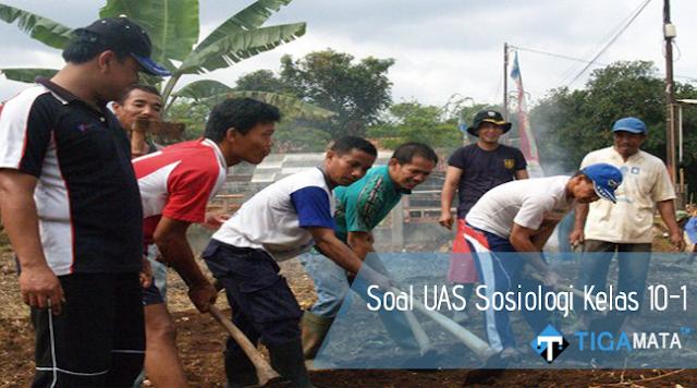 105 Soal dan Jawaban UAS Sosiologi Kelas 10 SMA Semester 1