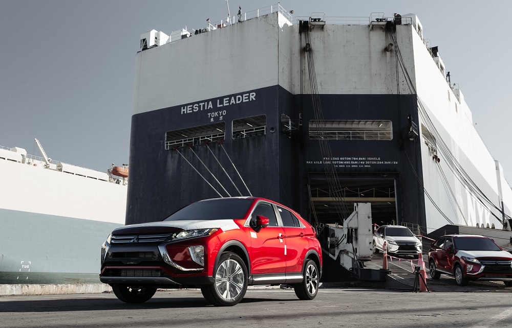 2018 Mitsubishi Eclipse Cross arrives the United States