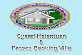 booking villa istana bunga