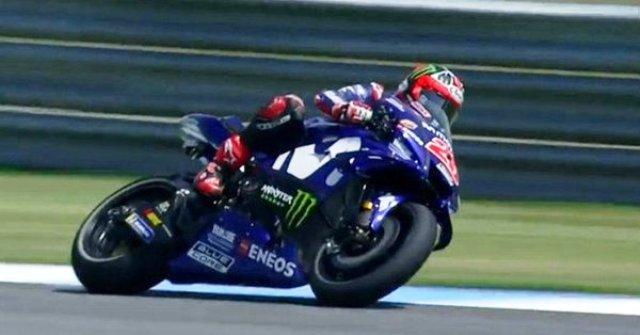 Hasil Tes MotoGP Qatar: Vinales Tercepat, Rossi Kelima