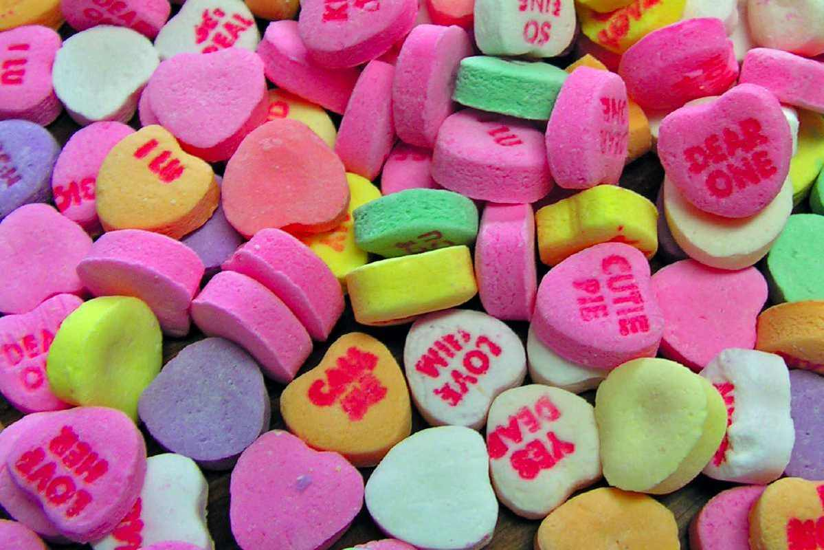 Valentines Day Hearts Candy Sayings Quotes