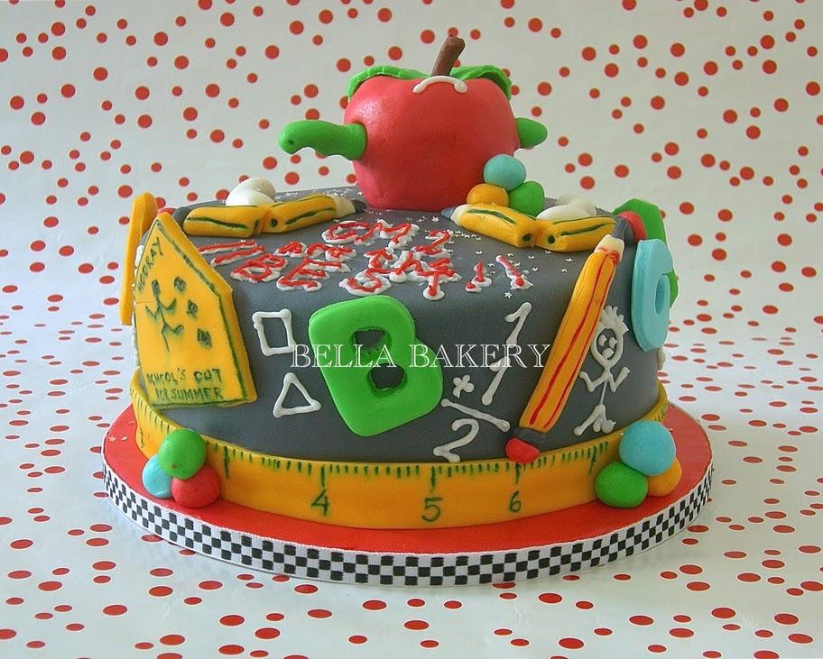 Qualified Teacher Cake Decorations