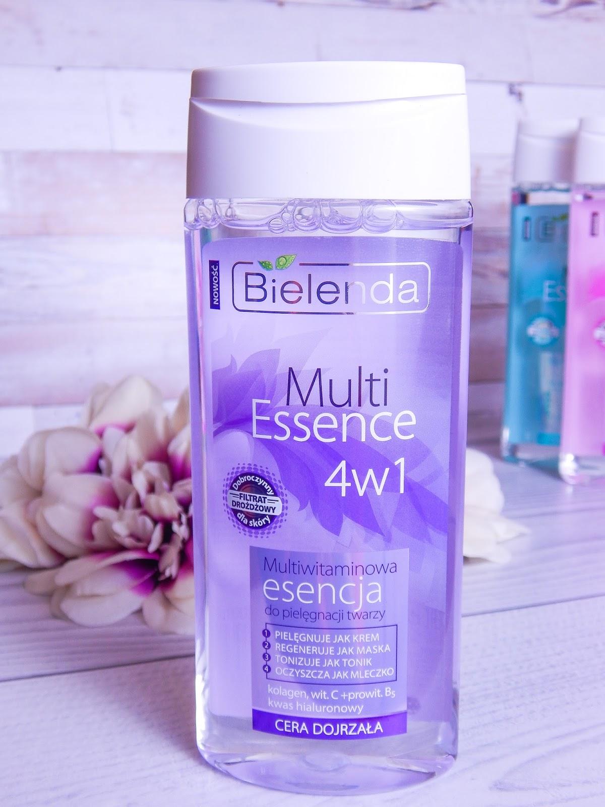 3 multi essence 4w1 bielenda recenzja multiwitamicowa esencja do pielęgnacji twarzy