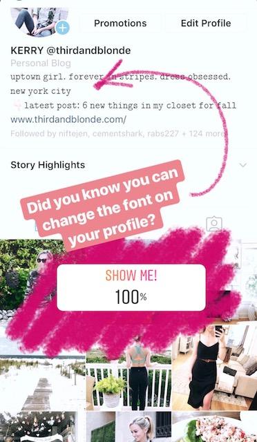 font changer for instagram