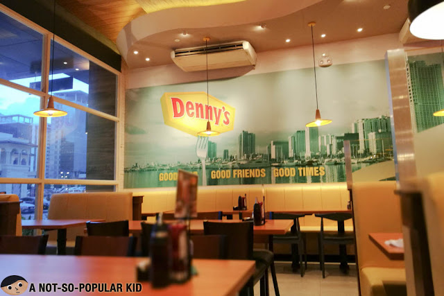 Denny's Interior in BGC