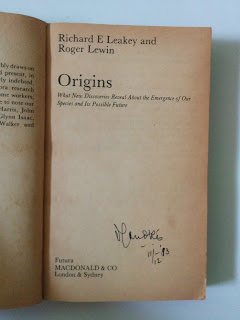 Origins by Richard E. Leakey And Roger Lewin