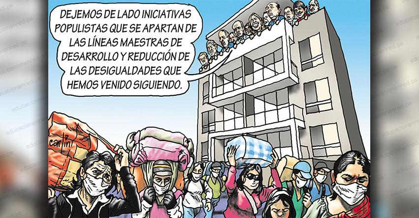 Carlincaturas Lunes 1 Junio 2020 - La República