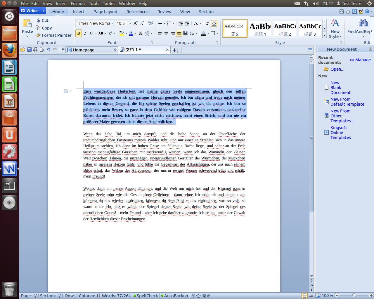 A LibreOffice competitor: ONLYOFFICE desktop editors gone open