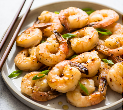 HONEY CHILI GARLIC SHRIMP