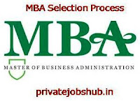 MBA Selection Process