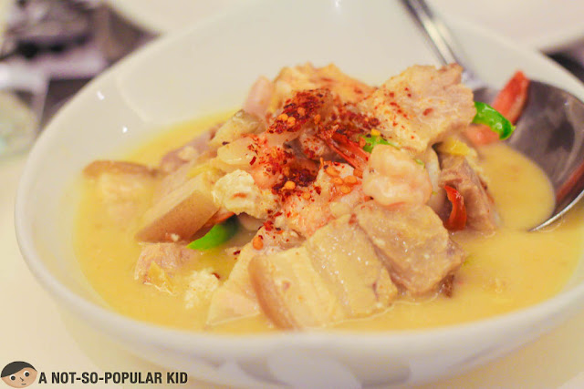 Mixed Bicol Express of Romulo Cafe