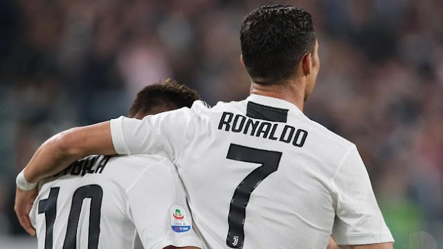 Dybala Happy Main Bareng Ronaldo
