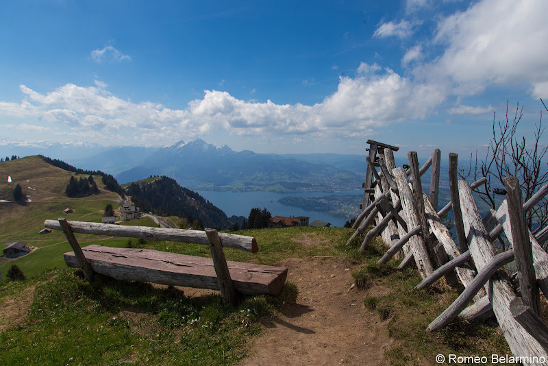 Mt. Rigi View Two Days in Lucerne Luzern Switzerland