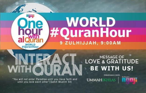 Program World #QuranHour 9 Zulhijjah 1437H