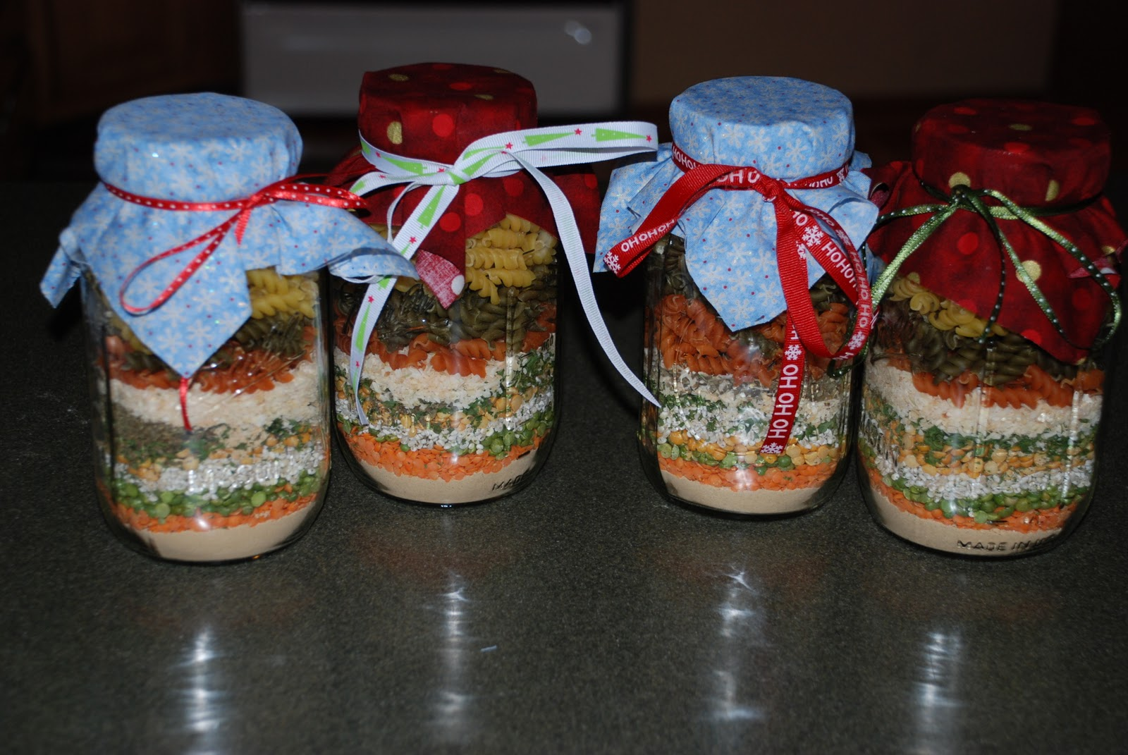 Being Frugal Sally: Gifts In A Jar