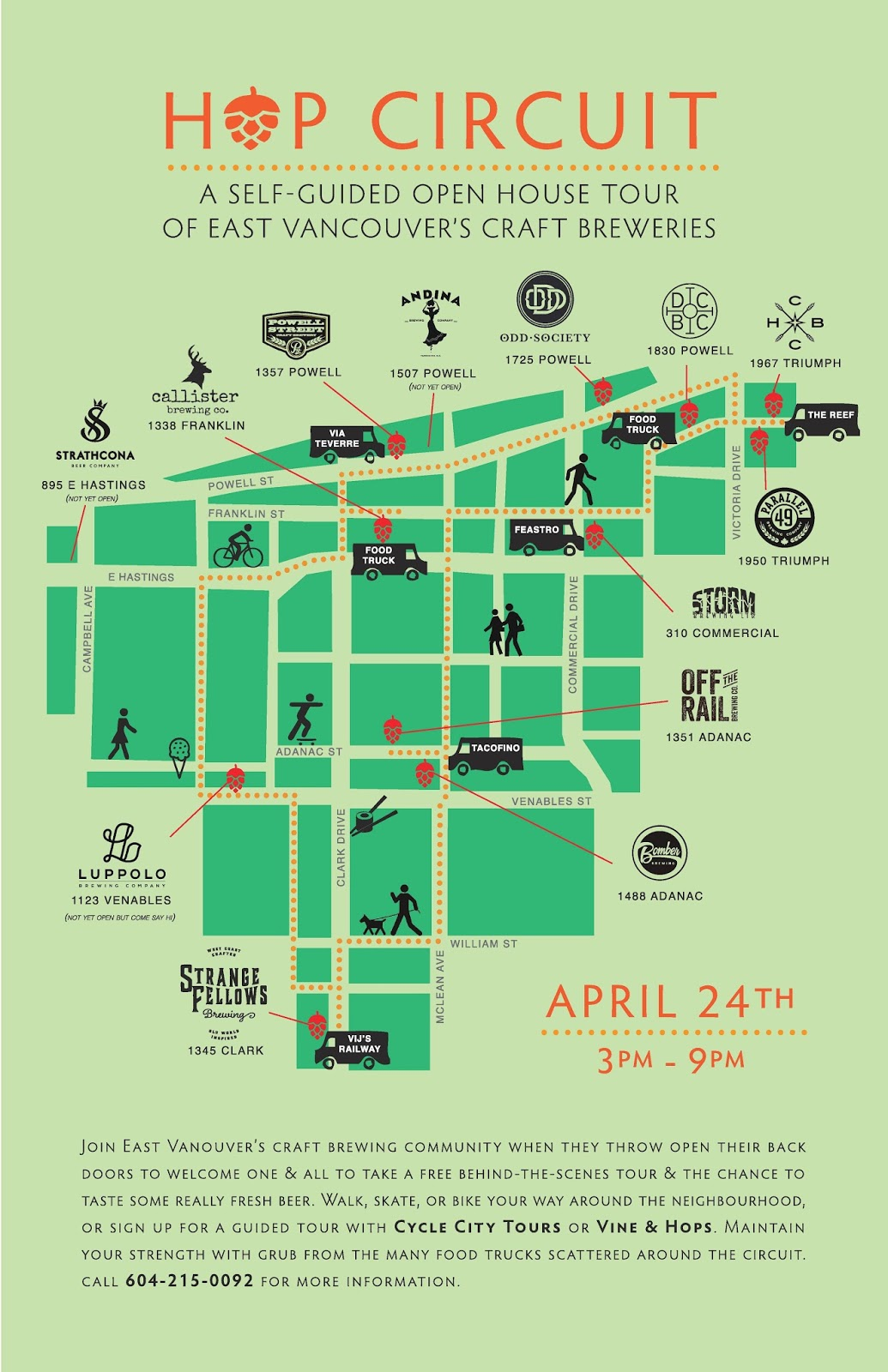 Hop Circuit Wiring Diagram For Keg Beer From 3pm To 9pm On Sunday April 24th The Eleven Existing And 1 Soon Be Open Breweries Distilleries Of East Vancouver Are Swinging Their Brewhouse