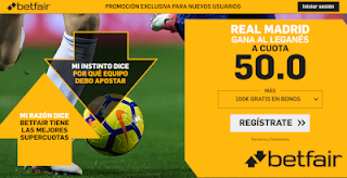betfair supercuota Real Madrid gana a Leganes 16 enero 2019
