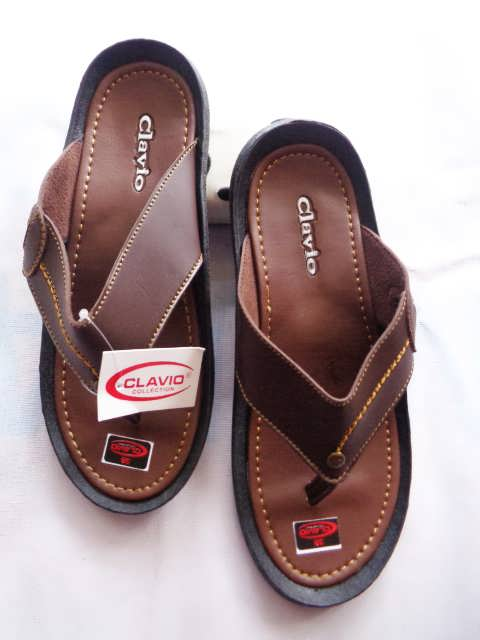 Sandal Clavio japit Pria - Distributor sandal imitasi | ASLI GARUT