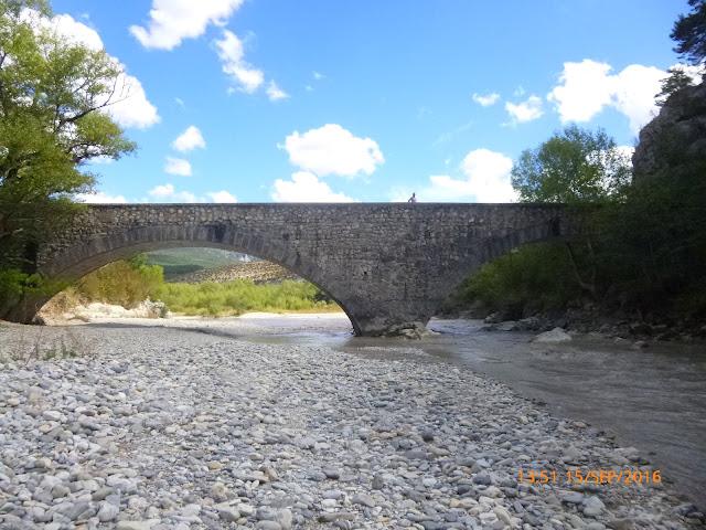 Pont de Soleils am Fluss Verdon