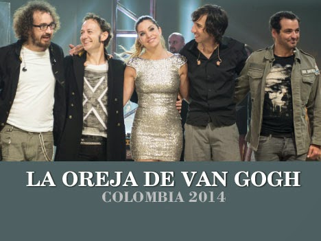 'La Oreja de Van Gogh' Bogotá