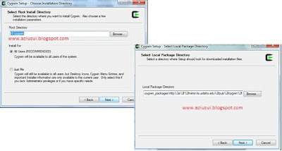 Cygwin package