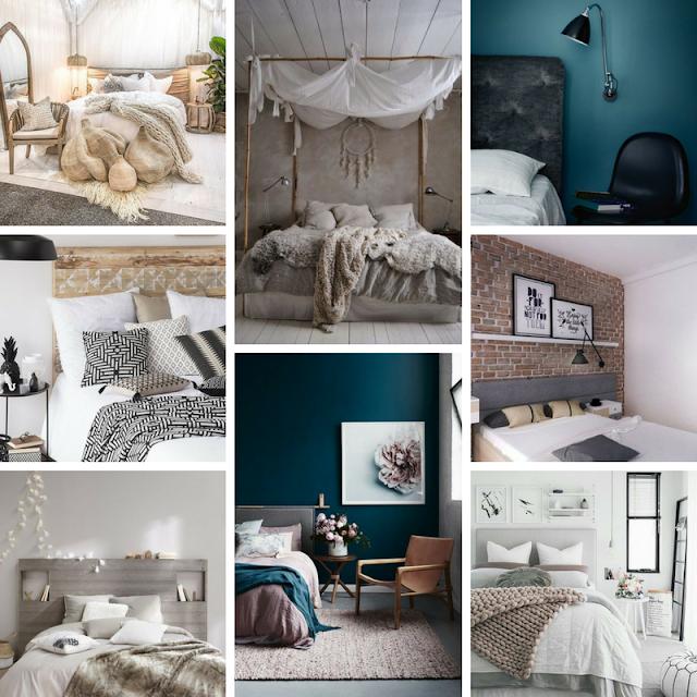 décoration home sweet déco couleurs matière maison chambre