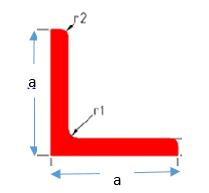 Equal Dimensions Arm Angle Bar