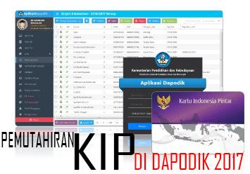 Pemutakhiran Data KIP melalui Aplikasi Dapodik Tahun 2017