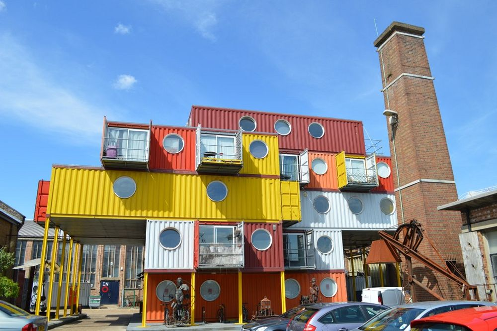 Trinity Buoy Wharf container city