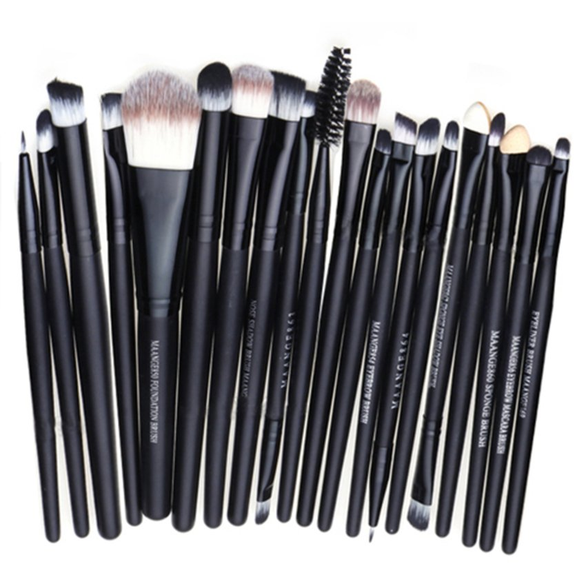 Blue Lans Pro Set Kuas Makeup – 20 Buah