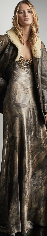 Ralph Lauren Amber Beaded Gown