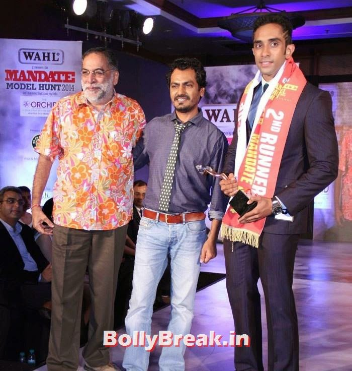 Nawazuddin Siddiqui, Mandate Model Hunt 2014 Grand Finale Photo Gallery
