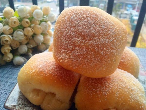 bánh mì sữa dừa
