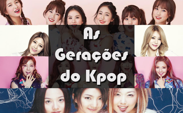 gerações generations kpop girlgroups gfriend s.e.s ses snsd girls generations aoa