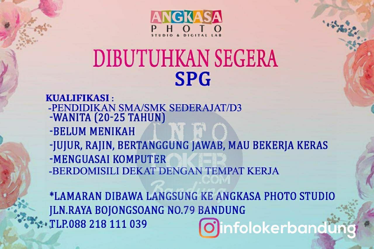 Lowongan Kejra Angkasa Photo Bandung Maret 2018
