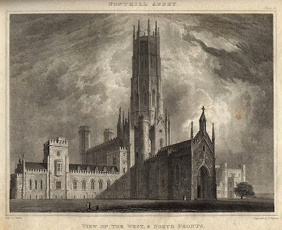 From John Rutter's Delineations of Fonthill and its Abbey, 1823