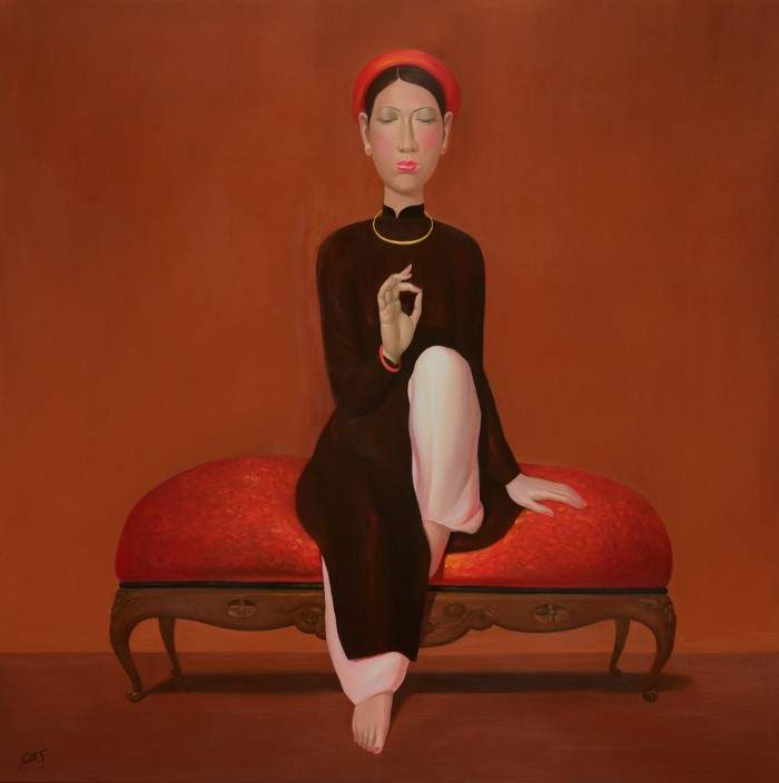 Вьетнамский художник. Chinh Nguyen Khac