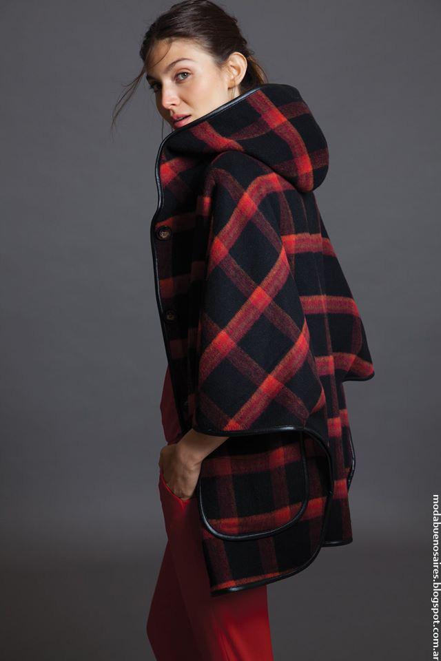 Sacos y tapados de moda invierno 2016 ropa de mujer. Awada 2016 moda.