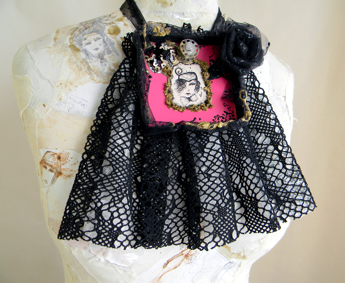 Unique Handmade Jewelry Jabot Fashion Original Handcrafted Accessories