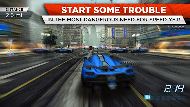 Download Need for Speed™ Most Wanted v1.3.71 Mod Apk+Data Terbaru
