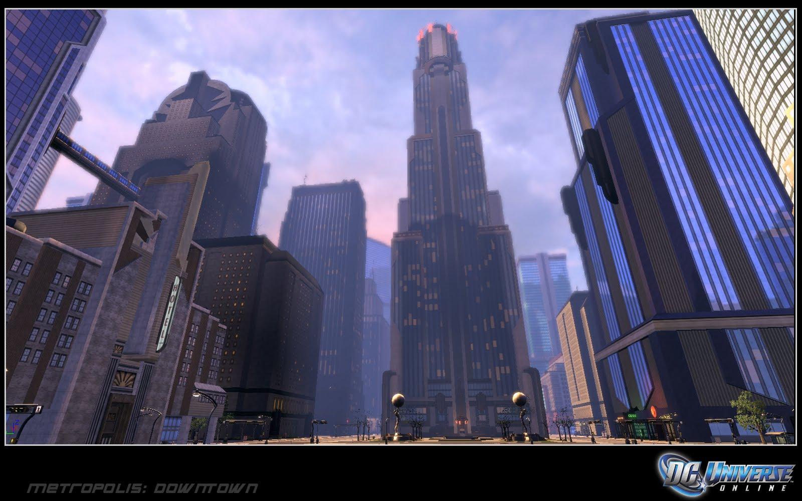 Katie Houston Artwork Metropolis Dc Universe Online