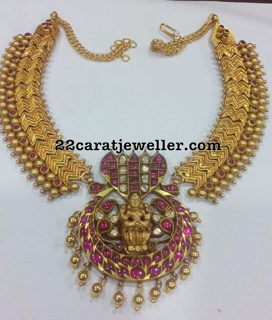 Antique Choker with Naga Pendant