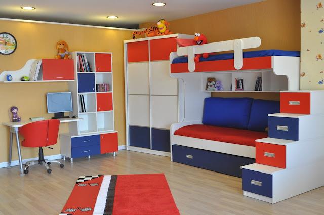 Çocuk odası için ranza fikirleri