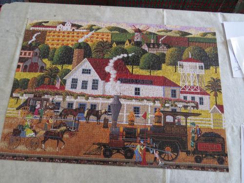 jigsaw puzzle Los Olivos Railroad