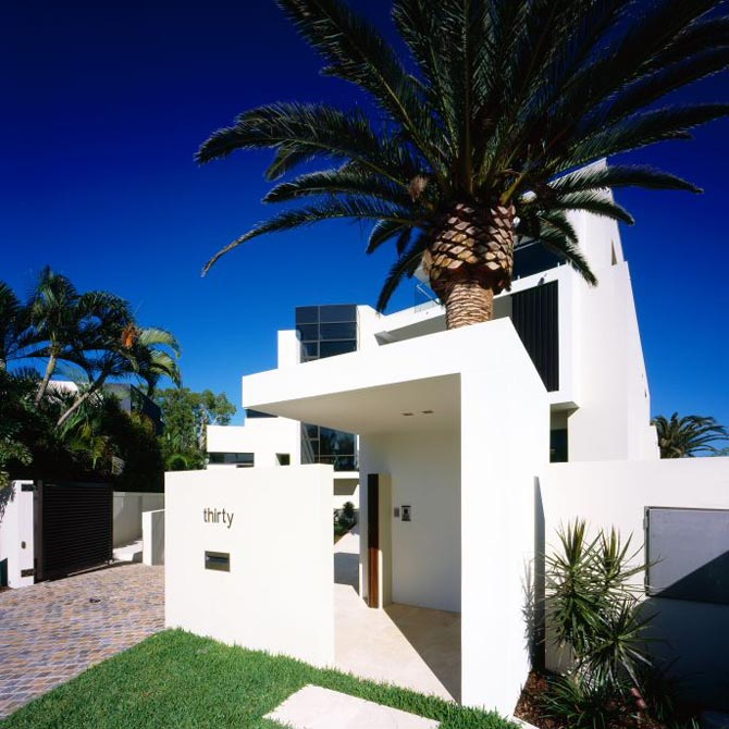 Luxury Houses, Villas And Hotels: Modern White House