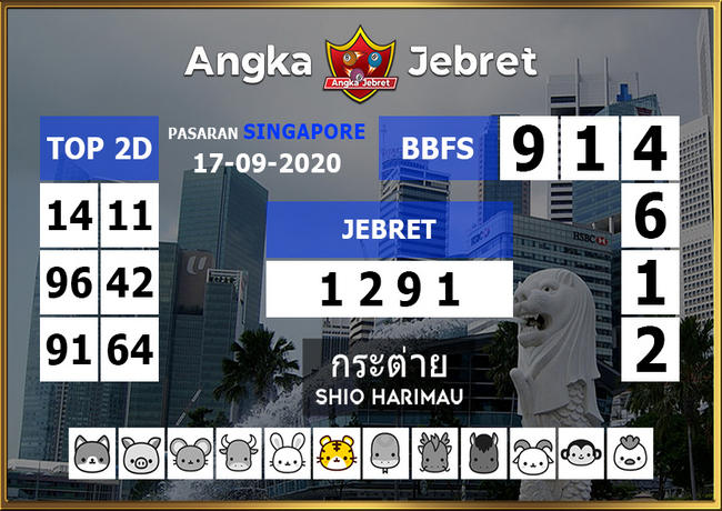 Kode syair Singapore Kamis 17 September 2020 189
